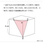 第14問 三角すいの表面積