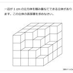 第53問 立方体と表面積