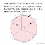 第93問 立方体と球