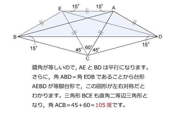 算数オリンピック(1995年)トライアル解説03