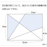第124問 長方形と面積の和