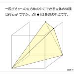 第132問 立体の体積
