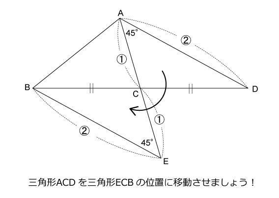 図形ドリル第153問ヒント