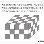 レベル4 立方体のつみ木