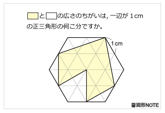 図形NOTEプレ3年生 正三角形