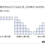 レベル4 立体の投影図