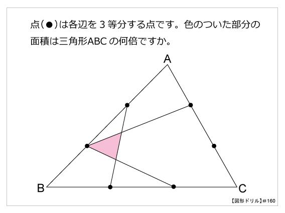 図形ドリル160m