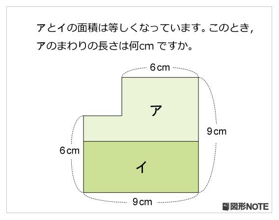 zn56レベル3 面積とまわりの長さ