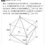 第11問-立体図形(難問)